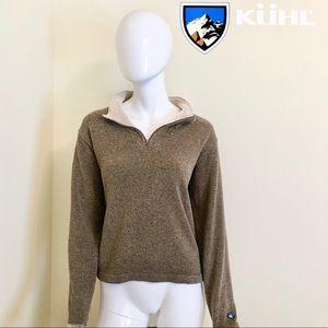 GUC - Kuhl - Brown Alpaca Fleece Pullover - L